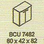 meja kantor modera bcu 7482