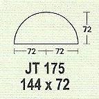 meja kantor modera jt 175