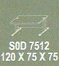 meja kantor modera s0d 7512