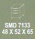 meja kantor modera smd 7133