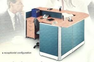 Partisi Kantor Uno Receptionist