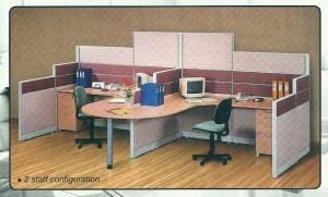 Partisi Kantor Uno 2 Staff