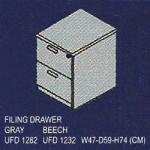 filling cabinet 2 laci uno classic series