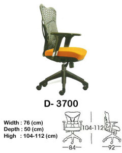 Kursi Director & Manager Indachi D- 3700