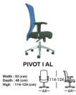 Kursi Director & Manager Indachi Pivot I Al