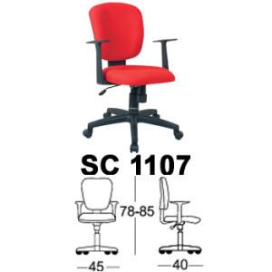 Kursi Staff & Sekretaris Chairman SC 1107