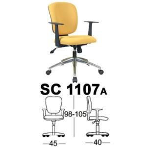 Kursi Staff & Sekretaris Chairman SC 1107a