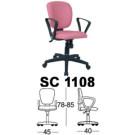 Kursi Staff & Sekretaris Chairman SC 1108
