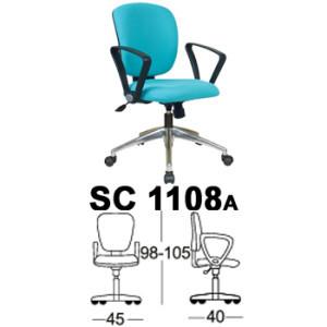 Kursi Staff & Sekretaris Chairman SC 1108a