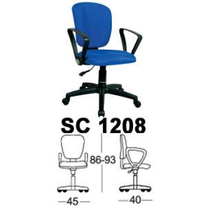 Kursi Staff & Sekretaris Chairman SC 1208