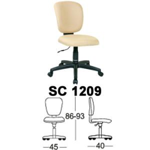 Kursi Staff & Sekretaris Chairman SC 1209