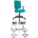Kursi Staff & Sekretaris Chairman SC 1307