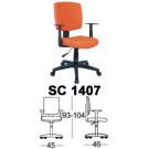 Kursi Staff & Sekretaris Chairman SC 1407
