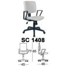 Kursi Staff & Sekretaris Chairman SC 1408