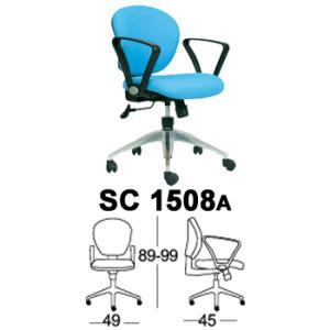 Kursi Staff & Sekretaris Chairman SC 1508a