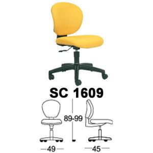 Kursi Staff & Sekretaris Chairman SC 1609