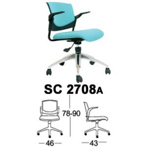 Kursi Staff & Sekretaris Chairman SC 2708a