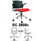 Kursi Staff & Sekretaris Chairman SC 2808a