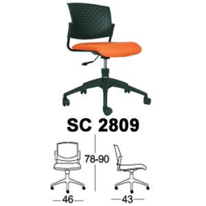 Kursi Staff & Sekretaris Chairman SC 2809