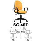 Kursi Staff & Sekretaris Chairman SC 407