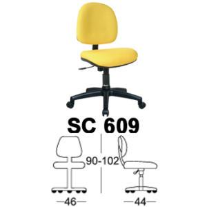 Kursi Staff & Sekretaris Chairman SC 609
