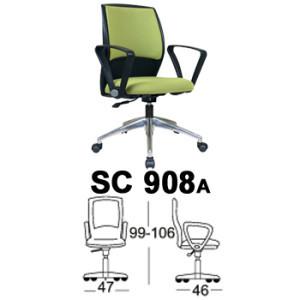 Kursi Staff & Sekretaris Chairman SC 908a