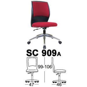 Kursi Staff & Sekretaris Chairman SC 909a