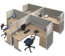 Partisi Kantor Modera 5 Series T 4 Staff