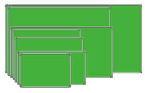 Softboard Sakana 120X180 Gantung