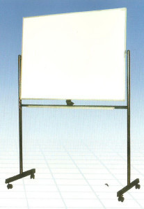 Whiteboard Sakana 120X240 (2Muka+Kaki)