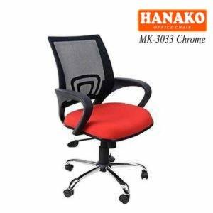 Kursi kantor Hanako MK-3033Chrome